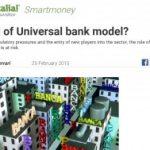 ¿El final del modelo universal de banco?